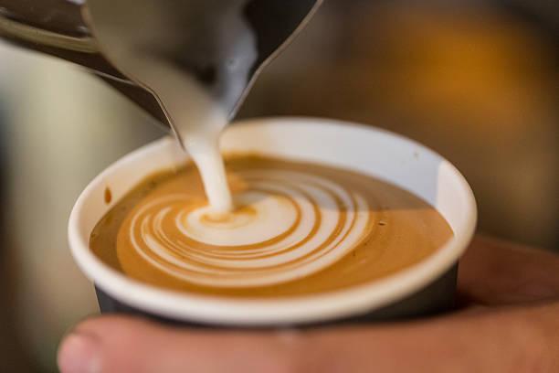 Koffie in beker