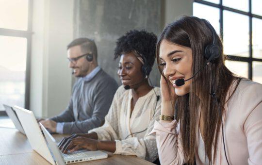Werken bij een callcenter